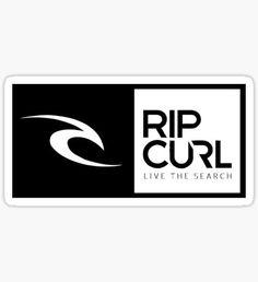 Rip Curl Logo Pegatina