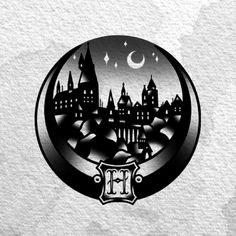 Cool Harry Potter tatt