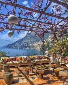 Villa Treville Positano Italy #hotelsandresorts #positano #villatreville