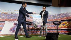 Acto de despedida de Xavi Hernández   FC Barcelona