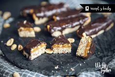 Snickers bez múky a cukru - Z KNIHY | We Lift Together
