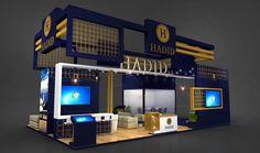 Exhibition Booth Design, Exhibition Stands, Exhibit Design, Center Table, Display, Decorating, Shop, Creativity, Xmas