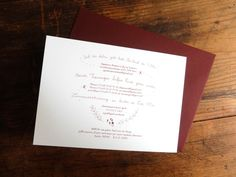 Stephanie & Gerry | Wald und Schwert www.waldundschwert.com #stationary #wedding #invitation #handwriting #typography #fox #beave Paper Goods, Handwriting, Stationary, Wedding Invitations, Fox, Typography, Woodland Forest, Penmanship, Letterpress