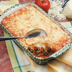 Meat lovers pizza bake. <3 these fast yummy recipes