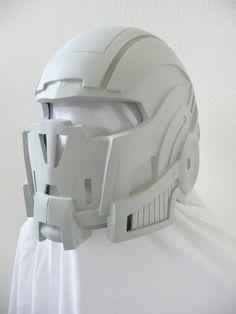 Mass Effect N7 Breather helmet fan made by WreckdStudios on Etsy, $100.00
