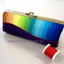 Make an easy pencil case. Visit www.thimblelady.com