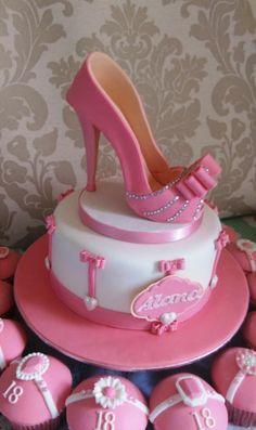 Pink Birthday Cakes, Adult Birthday Cakes, Birthday Cakes For Women, High Heel Cakes, Shoe Cakes, Cupcake Cakes, Purse Cakes, Crazy Cakes, Fancy Cakes