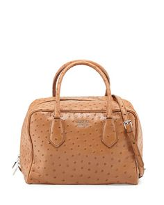 fc6cc3d636a2 Calf Hair & Ostrich Medium Inside Bag, Leopard/Red/Black (Miele Fuoco  Nero), Women's, Leopard Red - Prada   *Handbags, Wallets & Cases > Handbags*  ...
