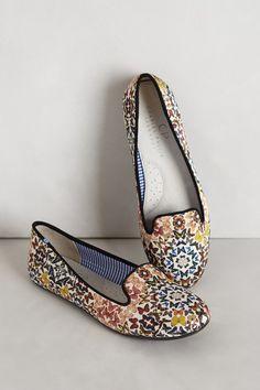Silk Mariposa Loafers