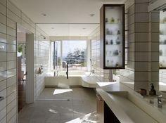 Shou Sugi Ban Bath Merit Award, Bathroom Remodel $25,000 to $50,000   Neal Schwartz, Schwartz and Architecture Michael Donohue, M&D Construction 2016 Remodeling Design Awards