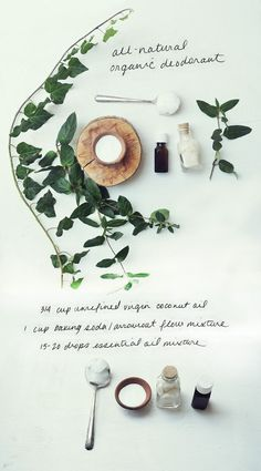 natural deodorant for all: recipe & giveaway