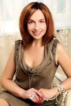 I am seriously interested in learning foreign languages. I attend gym and swimming pool. I write stories  Lady's ID  31297  Age42  Birthday10 Oct 1974  Zodiac sign  Libra  Height  5' 5''(1.64m)  Weight  123 Lbs(56 kg)  Hair Color  Dark Blonde  Eye Color  Green  Smoke  Non-smoker  Drink  Social  Occupation  Manager/Supervisor  Education  University  Marital Status  Divorced  English Spoke  fluent  Religion  Christian  Children  No  Plans Children  Undecided  Residence  Kiev Ukraine…