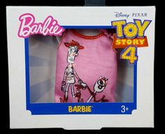 2019 Barbie Fashion Packs - Set of 2 Tops - Toy Story-No Toy Left Behind-Woody