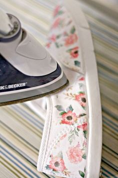 Iron-On Floral Patterned DIY Shoes – diycandy.com