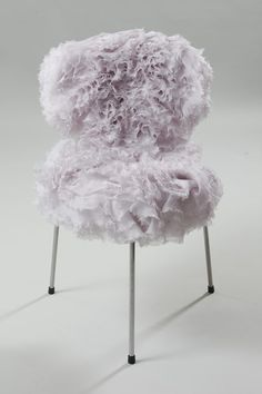 rose | chair . Stuhl .  chaise | Design: Sarah Burton | Alexander McQueen |