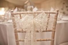Lace chair sash - Boris and Betty Vintage Wedding Theme, Ivory Wedding, Diy Wedding, Rustic Wedding, Wedding Venues, Wedding Ideas, Wedding Inspiration, Wedding Things, Wedding Pictures