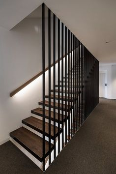View the full picture gallery of Alpin & Stylehotel DIE SONNE Staircase Design Modern, Stair Railing Design, Home Stairs Design, Staircase Railings, Modern Stairs, Interior Stairs, Home Interior Design, Bannister, House Stairs