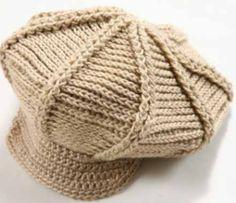 Bonnet Crochet, Crochet Beret, Crochet Cap, Crochet Socks, Crochet Granny, Crochet Scarves, Knitted Hats, Diy Crafts Knitting, Diy Crafts Crochet