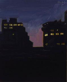 Alex Katz, Study for a Wet Evening, 1985