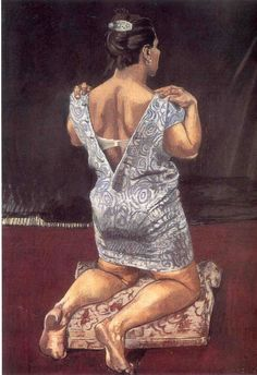Paula Rego. Target, 1995, Pastel on canvas, 160 x 120 cm.