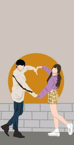 Cute Couple Drawings, Cute Couple Cartoon, Cute Couple Art, Cute Love Cartoons, Cover Wattpad, Kpop Gifs, Cute Couple Wallpaper, Animated Love Images, Best Book Covers