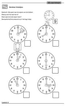 Opa Klokspin - Klokkijken