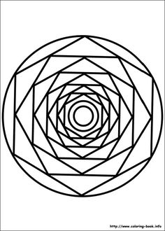 Mandala Coloring Pages  Peaceful activity