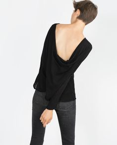 Image 5 of BOAT NECK SWEATER from Zara