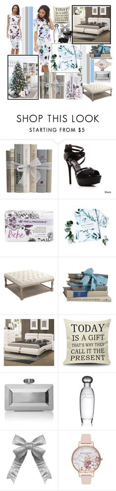 """My Wish List"" by malrocs-polyvore ❤ liked on Polyvore featuring Gomax, Pré de Provence, Nikki Strange, Judith Leiber, Estée Lauder, Olivia Burton and polyPresents"