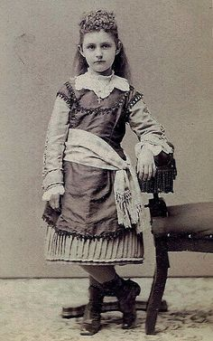 "young Victorian with panache; written in pencil on the back: ""Ella M."