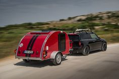 The 300kg two berth MINI Cowley teardrop camper is one of three bespoke camping vehicles rolled out by the iconic British brand.