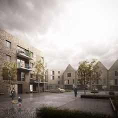 HawkinsBrown Designs Housing Scheme in Rotherhithe