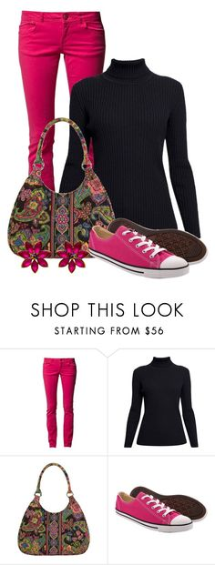 """""""Kindergarten teacher work wear #3"""" by domino-80 ❤ liked on Polyvore featuring Edc By Esprit, Rumour London, Vera Bradley, Converse and useallthethings"""