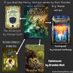 Read This! Grades 5 and 6 | East Rockaway Public Library If you like Percy Jackson series by Rick Riordan, try these! #percyjackson #readalikes #middlegradesread