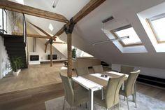 Jak vypadá moderně zařízený podkrovní byt? | Cubicor News