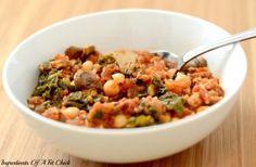 Turkey, Kale and Bean Stew
