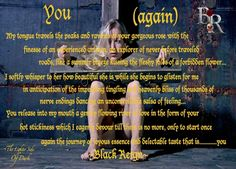 "The lighter Side of Dark By Michael Gagain ""Black Reign"" There are Three sides to everyone…  Lighter, The Erotic and The Dark... This Book explores those sides of one mans obsessions, his Passion and the Alter Ego that is housed inside…The ""Notorious Black Reign."" By Day Michael Rebuilds Houses…By night his Alter Ego ""Black Reign"" charms Ladies home with him to his Basement.  His Charm is a ""Deadly Force, "" He Doesn't Break Hearts He Possess His Victims Completely … Welcome to the ""Lighter…"