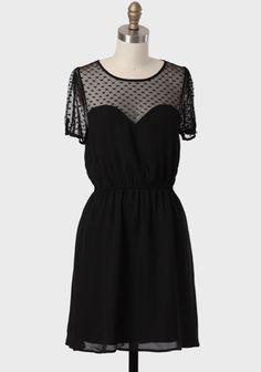 Sweet Side Mesh Detail Dress at #Ruche @shopruche