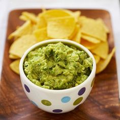 This looks like the best guacamole recipe.  Lime, green onions, cilantro and garlic.