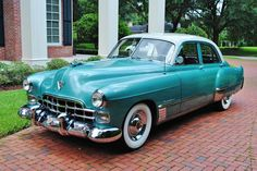 1948 Cadillac  Maintenance/restoration of old/vintage vehicles: the material for new cogs/casters/gears/pads could be cast polyamide which I (Cast polyamide) can produce. My contact: tatjana.alic@windowslive.com