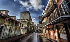 Bourbon Street at Dawn