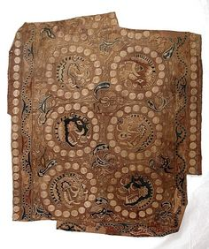 Textile with Boar's Head Roundels  Iran or Afghanistan, 7th century  The Metropolitan Museum of Art