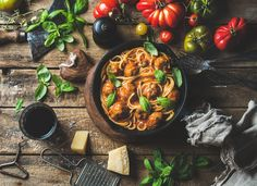 Italian pasta spaghetti  @creativework247