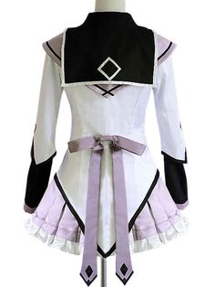 Frock Wool Puella Magi Madoka Magica Akemo Homura Anime Costume