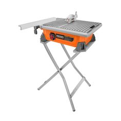 dfacba12dee Tile Saw with Stand-R4020SN - The Home Depot
