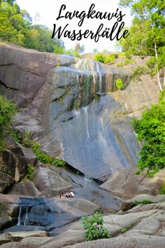 Die schönsten Wasserfälle der malayischen Insel Langkawi. George Town, Ipoh, Kuala Lumpur, Penang, Koh Lanta Thailand, Asia Cruise, Malaysia Travel, Waterfall, World