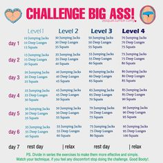 """positively-healthyandfit: """" Finally someone who understands you can't do 300 sqauts in a day! Almost all other of these types of thinks have like 500 jumping jacks and 300 squats in the end but if you..."""