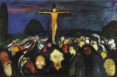 Edvard Munch - Golgotha (1900) .JPG (827×550)