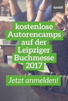 Sichert Euch bis zum 22. März ein Ticket für die kostenlosen Autorencamps - die Plätze sind bregenzt! http://www.epubli.de/blog/die-leipziger-buchmesse-2017-autorencamps #epubli #buchmarketing #buchmesse #leipzig #lbm17 #selfpublishing