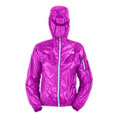 "North Face ""Women's Verto Jacket""... folds up to fit in the palm of your hand. Cute rain jacket!!"